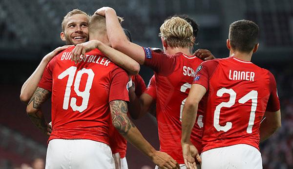 Osterreich Ofb Team Nordmazedonien Em Qualifikation