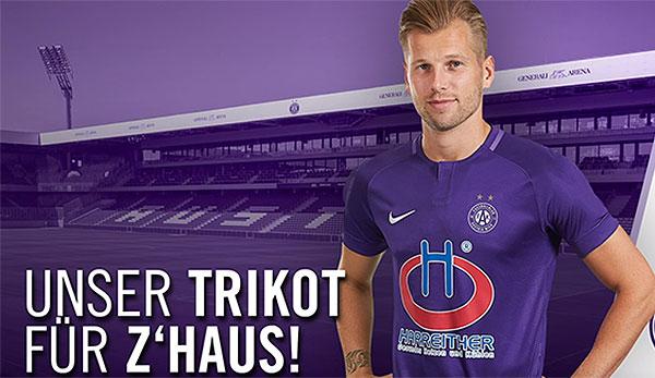 online retailer 00873 949e5 Bundesliga: FK Austria Wien stellt neues Heim-Trikot und ...