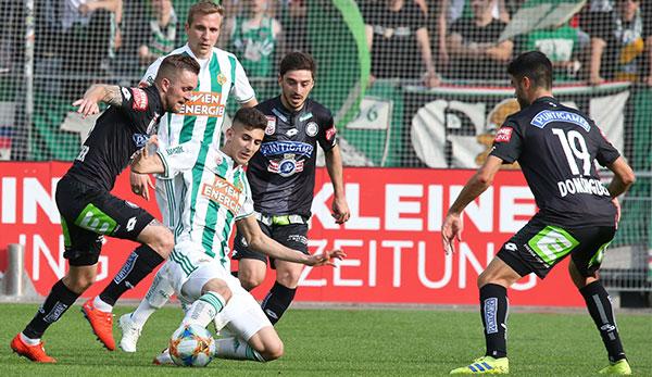Bundesliga Playoff Sturm Graz Ist Dank 0 1 Niederlage Gegen Rapid In Europa League