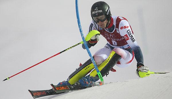 Slalom Herren Heute
