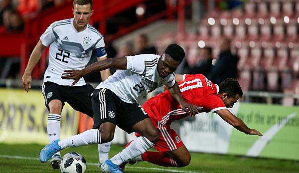 Dfb Team U21 Deutschland Gegen Wales 1 5 Der Live Ticker