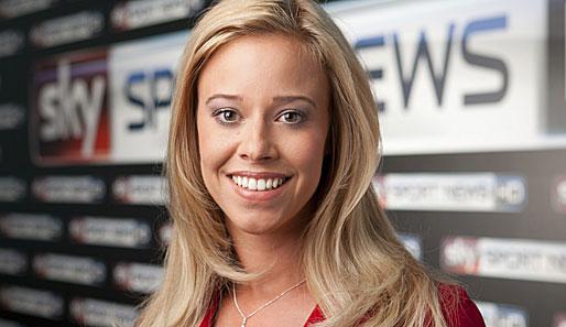Nackt sky sport moderatorin Ruth Hofmann