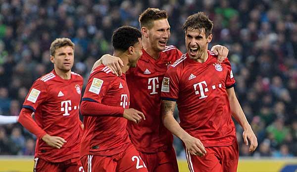 Borussia Monchengladbach Gegen Fc Bayern Munchen Der Live