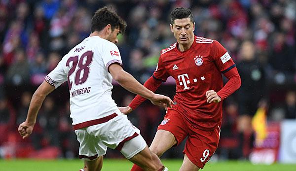 1 Fc Nurnberg Gegen Fc Bayern Munchen Heute Live Im Tv