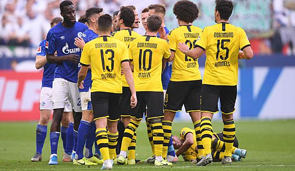 Fc Schalke 04 S04 Gegen Borussia Dortmund Bvb