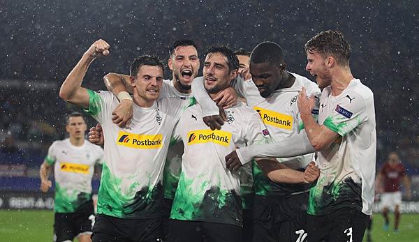 Borussia Mönchengladbach gegen Eintracht Frankfurt heute live im TV,  Livestream und Liveticker