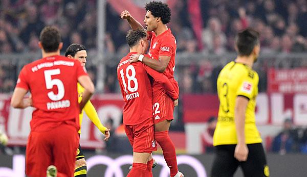 Bundesliga Fc Bayern Gegen Borussia Dortmund Im Live Ticker