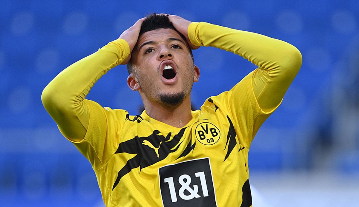 BVB: Jadon Sancho will Dortmund verlassen - doch es gibt einen Haken