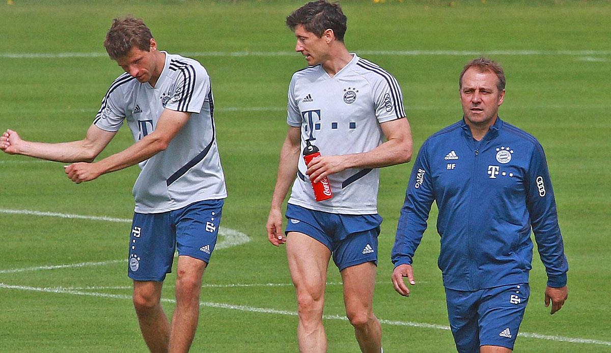 FC Bayern: Pressekonferenz mit Hansi Flick vor BVB-Spiel