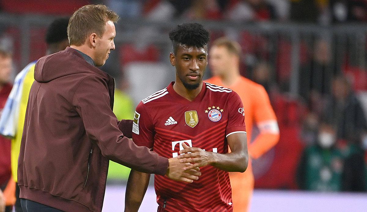 Bixente Lizarazu rät Kingsley Coman, bei Bayern zu verlängern