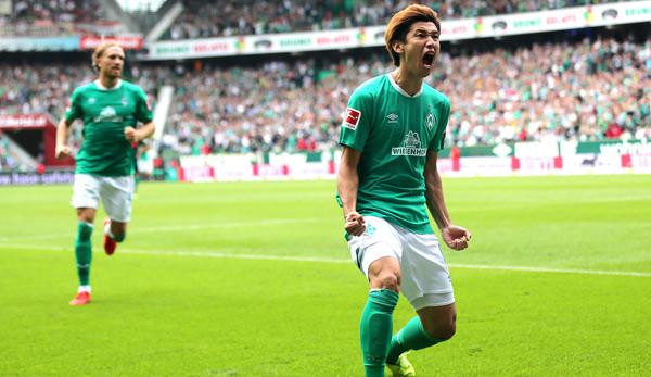 Sv Werder Bremen Fc Augsburg 3 2 Osako Und Sargent Zaubern Werder Zum Ersten Saisonsieg