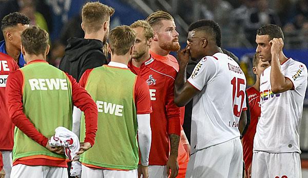 1 Fc Koln Hertha Bsc 0 4 Schutzenfest Hertha Sturzt Den Effzeh In Die Krise