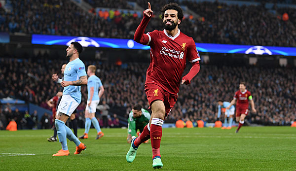 Manchester City Fc Liverpool 1 2 Salah Beendet Citys