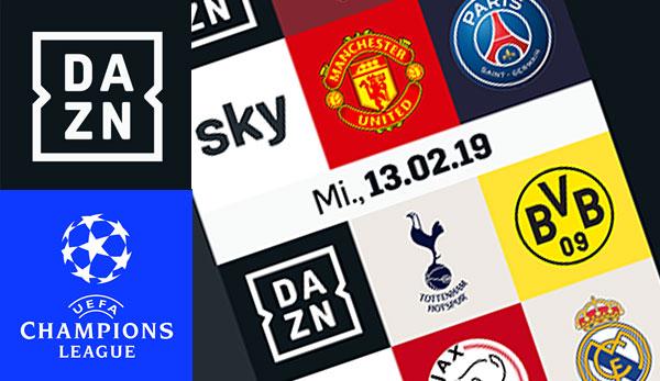 Champions League Achtelfinale Dazn Zeigt Bvb Und Schalke Live Und