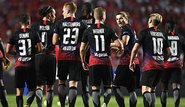 Rb Leipzig Gegen Olympique Lyon Champions League Zum