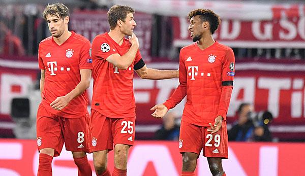 Fc Bayern In Der Champions League Tabelle Gruppe Spiele