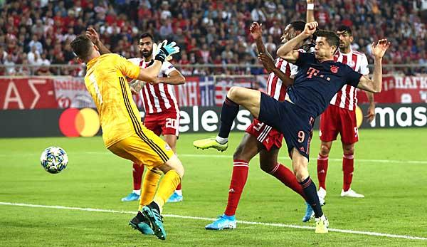 Fc Bayern Gegen Olympiakos Piraus Heute In Der Champions