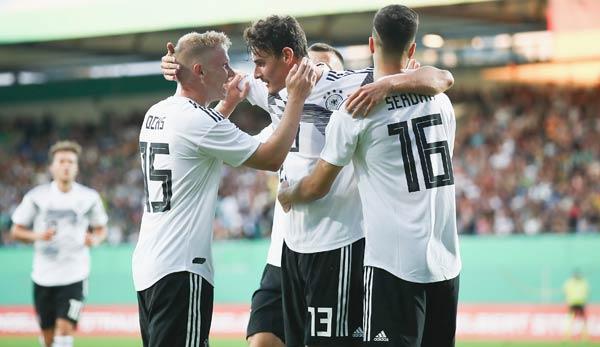 Dfb U21 Deutschland Irland In Der Em Qualifikation Heute