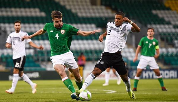 U21 Em Qualifikation Deutschland Gegen Irland Heute Live