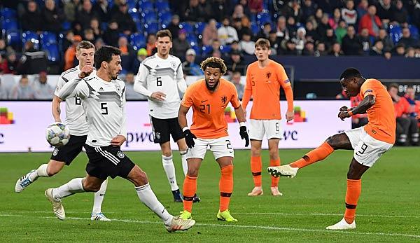 Deutschland Gegen Niederlande Heute Live Em Qualifikation