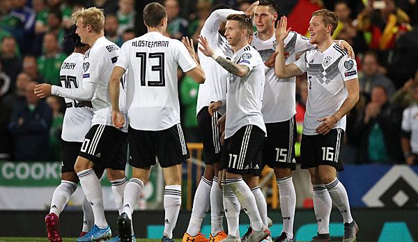 Dfb Team Nordirland Gegen Deutschland 0 2 Zum Nachlesen Im