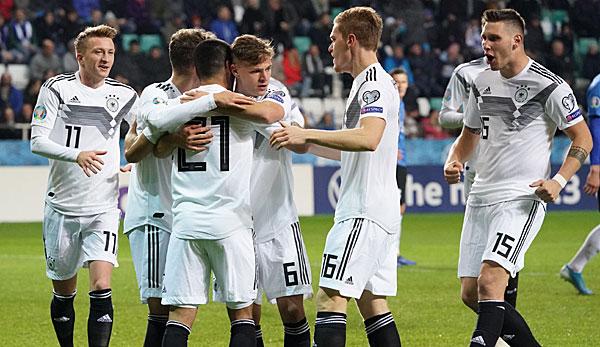 Dfb Team In Der Em Qualifikation Spielplan Tabelle Und