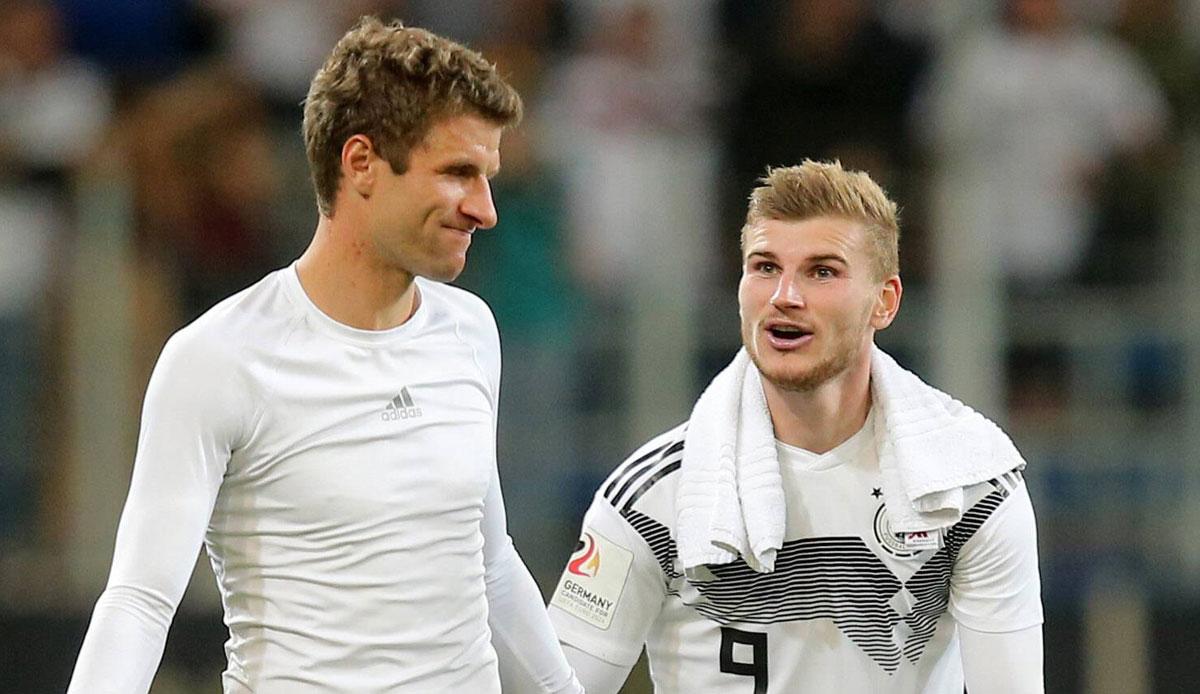 Dfb Team Timo Werner Freut Sich Auf Ruckkehrer Thomas Muller Und Mats Hummels
