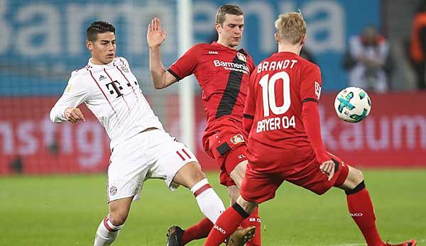 Bayer Leverkusen Gegen Fc Bayern Munchen Heute Live Im Tv