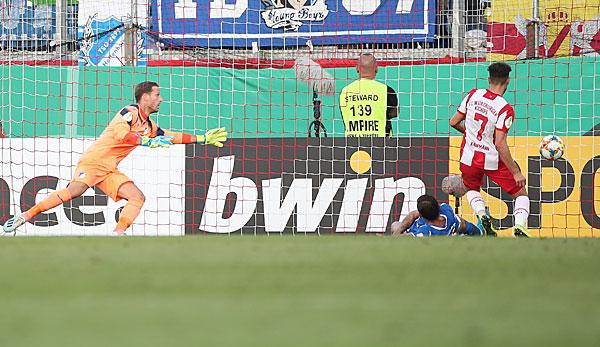 Dfb Pokal Wurzburger Kickers Gegen Tsg Hoffenheim Im Live