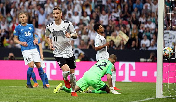 Em Qualifikation Deutschland Gegen Estland Heute Im Live Ticker