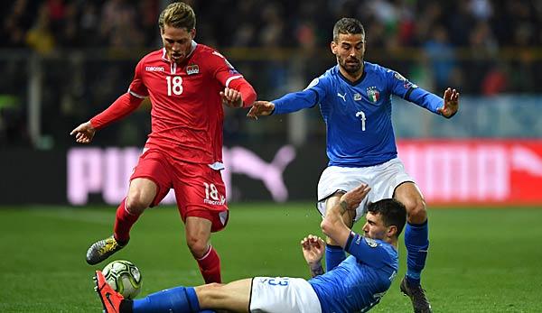 Liechtenstein Gegen Italien Em Qualifikation Heute Live Im