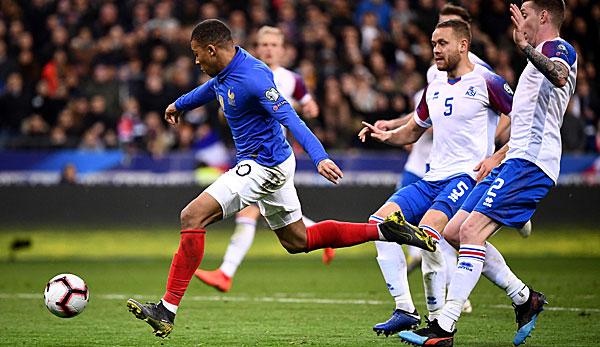 Em Qualifikation Island Gegen Frankreich Heute Live Im Tv