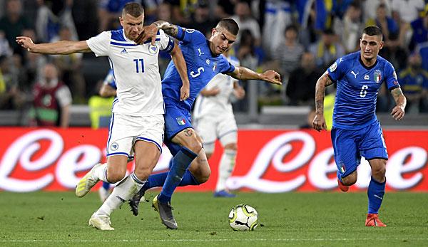 Bosnien Und Herzegowina Gegen Italien Heute Live Im Tv