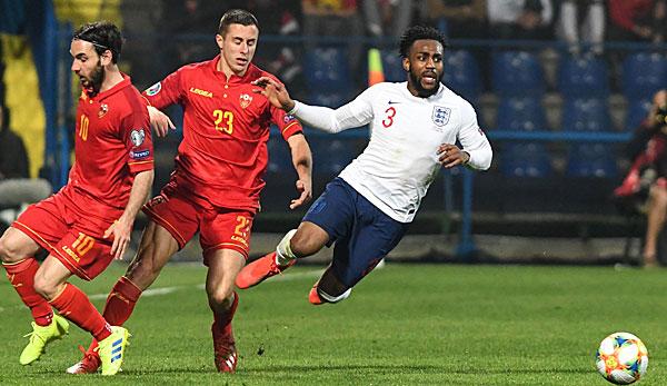 Em Quali England Gegen Montenegro Heute Live Im Tv