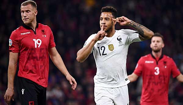 Em Qualifikation Tolisso Trifft Bei Frankreich Sieg