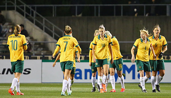 Klatsche Fur Australiens A Team Gegen Junioren