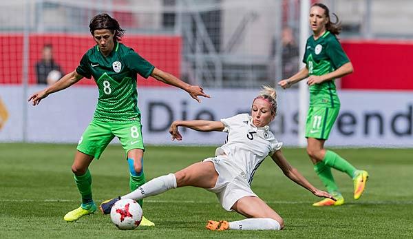 Deutsche Frauen Nationalmannschaft Siegt Gegen Slowenien In