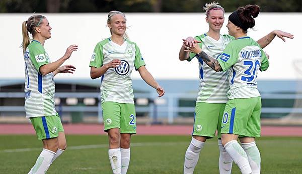 Frauen Fussball Pokalsieger Vfl Wolfsburg Trifft Im