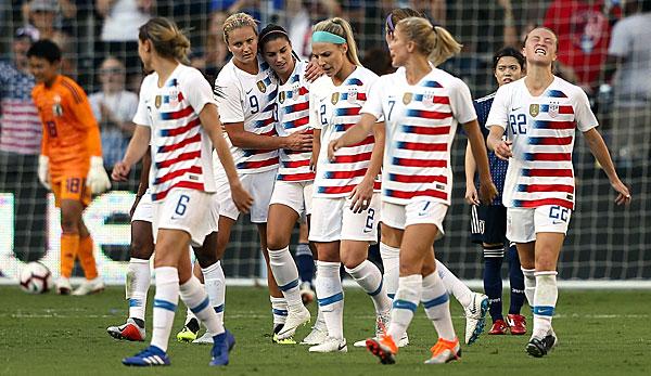 Frauen Nationalmannschaft Der Usa Verklagt Eigenen Verband