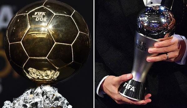 Ballon D Or Und The Best Fifa Football Awards Unterschied