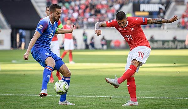Uefa Nations League Island Gegen Schweiz Heute Live Im Tv
