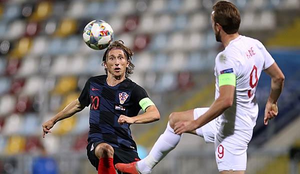 Uefa Nations League England Gegen Kroatien Heute Live Im Tv