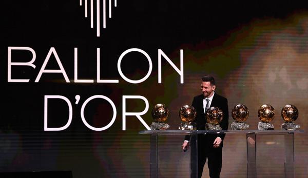 Ballon D Or 2019 Sechster Titel Fur Messi Die Weltfussballerwahl Zum Nachlesen
