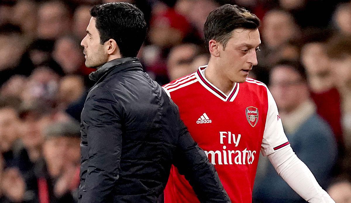 Ozil Berater Sogut Attackiert Arsenal Manager Arteta Nach Ausbootung Nicht Fair Ehrlich Und Transparent