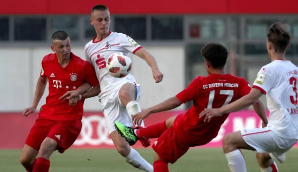 B Junioren Bundesliga Ruckspiel 1 Fc Koln Vs Fc Bayern