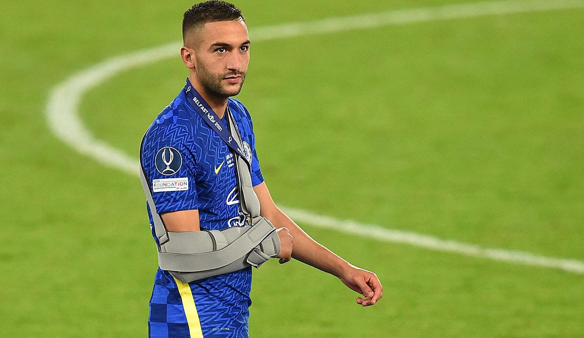 FC Chelsea: Marokko-Trainer Vahid Halilhodzic erhebt schwere Vorwürfe gegen  Hakim Ziyech