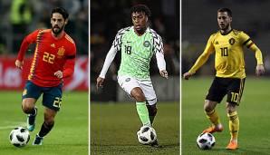 WM Trikots 2018: So laufen Deutschland, Spanien, Argentinien
