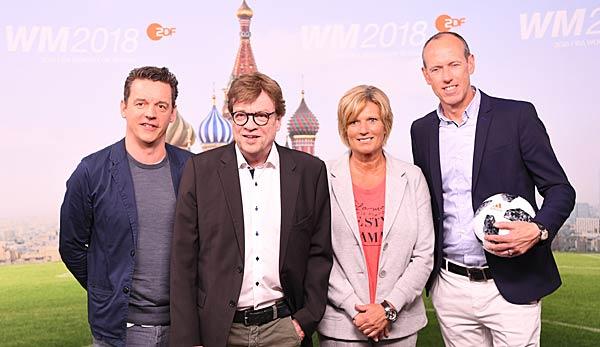 Zdf Kommentatoren Bei Der Wm 2018 Das Ist Das Team In Russland