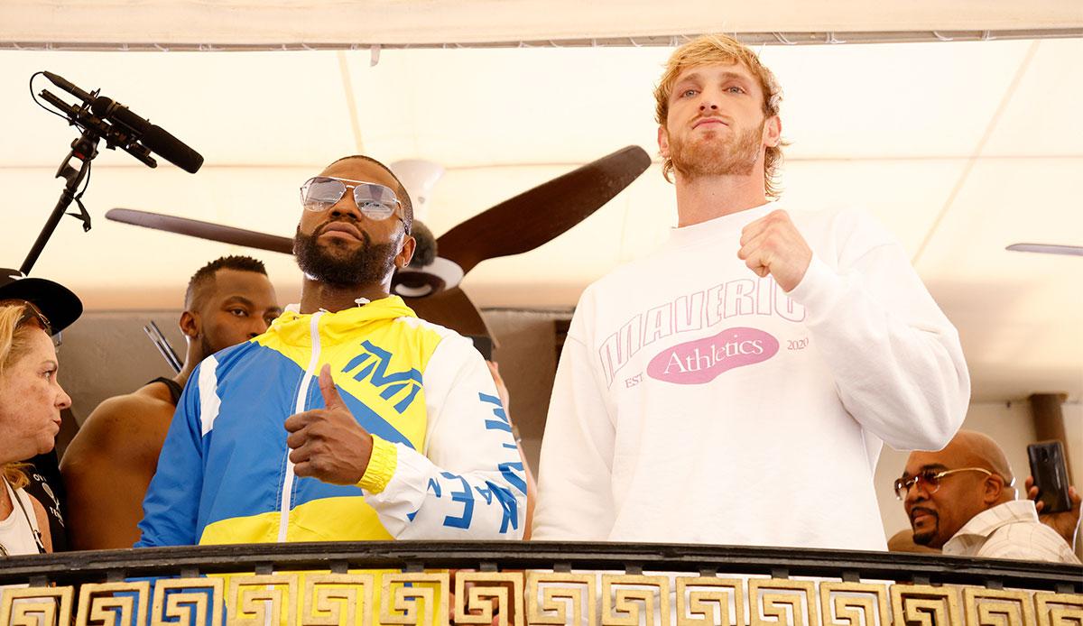 Wer zeigt / überträgt Boxkampf Floyd Mayweather vs. Logan Paul heute live  im TV und Livestream?