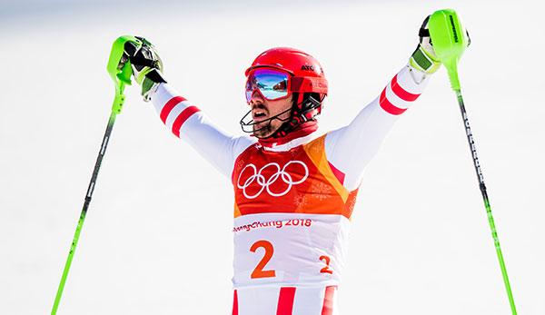 Ski Alpin: Marcel Hirscher holt Gold in der Kombination